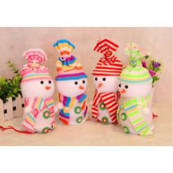 【兒童百貨,揹包配件收納袋系列】聖誕糖果罐,聖誕公仔糖果罐,禮物罐袋,裝禮物或寶貝配件,可愛立體公仔聖誕禮物袋/生日禮袋☆